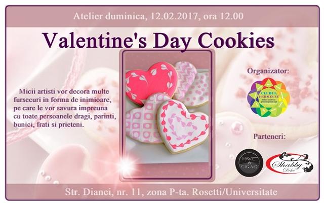 Eveniment 12 februarie 2017 - Valentine's day cookies