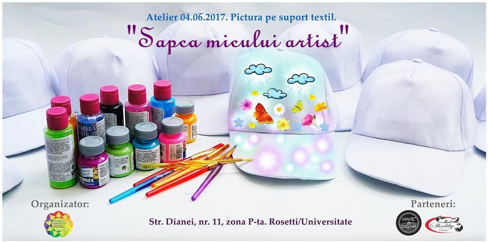 Eveniment 04.06.2017 - pictura pe sapca