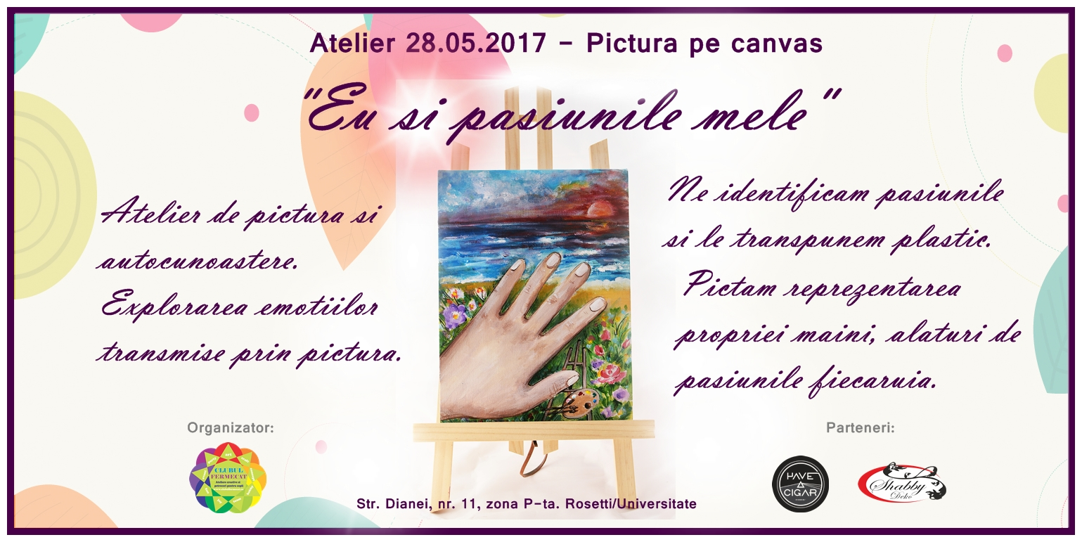 Eveniment 28.05.2017 - pictura pe canvas