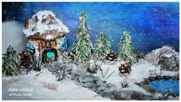 Diorama de iarna 1