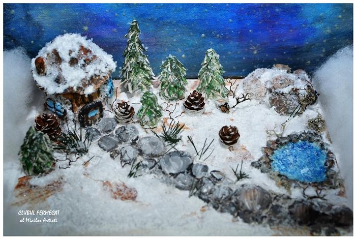 Diorama de iarna 4